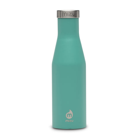 Shop Mizu S4 Insulated Water Bottle - Soft Touch Spearmint 400ml | Benny's Boardroom