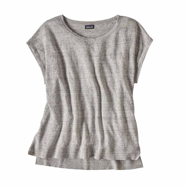 Shop Patagonia Women's Lightweight Linen Top - Tailored Grey | Benny's Boardroom