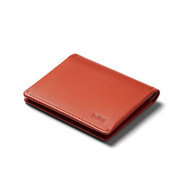 Shop Bellroy Slim Sleeve Leather Wallet - Tangelo Online Australia | Benny's Boardroom