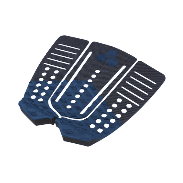 Shop Channel Islands 50/50 Flat Tail Pad - Black/Indigo Profile | Benny's Boardroom