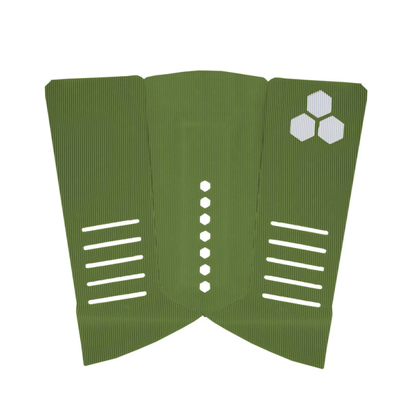 Shop Channel Islands Fish Tail Pad Arch - Army Green Online Australia | Benny's Boardroom