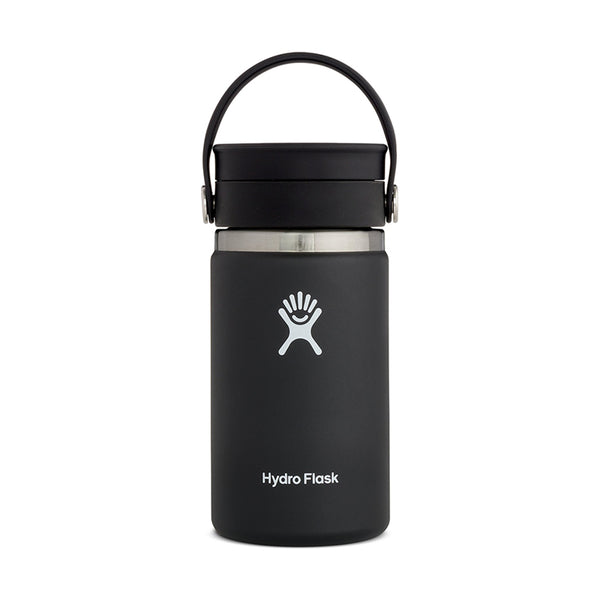 Shop Hydro Flask 354ml/12oz Reusable Coffee Cup with Flex Sip Lid - Black Online Australia | Benny's Boardroom