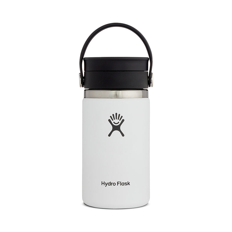 Shop Hydro Flask 354ml/12oz Reusable Coffee Cup with Flex Sip Lid - White Online Australia | Benny's Boardroom