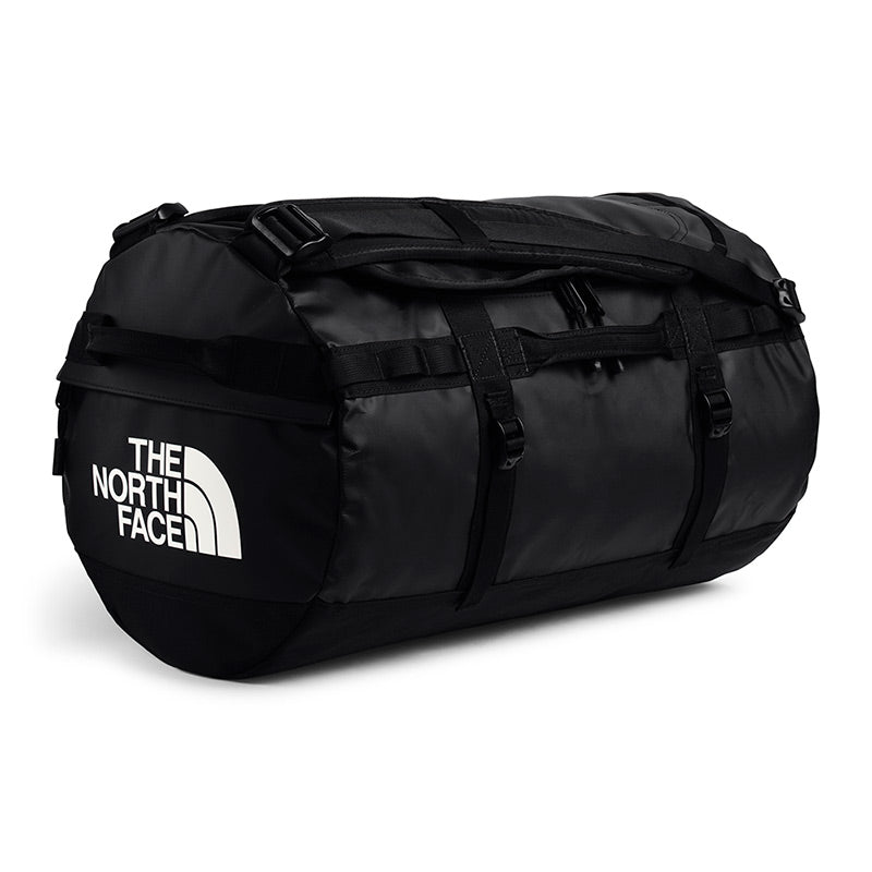 Shop The North Face Base Camp Duffel Bag 50L (S) - TNF Black/TNF White Online Australia | Benny's Boardroom