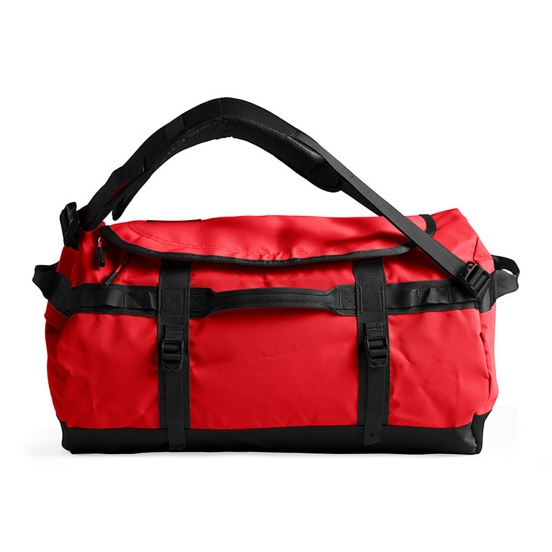 Shop The North Face Base Camp Duffel Bag 50L (S) - TNF Red/TNF Black Profile | Benny's Boardroom