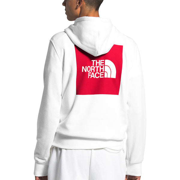 Shop The North Face Men's Box Pullover Hoody - TNF White Back | Benny's Boardroom
