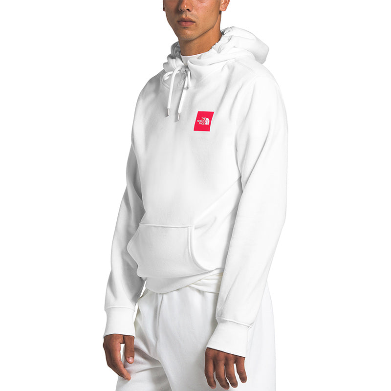 Shop The North Face Men's Box Pullover Hoody - TNF White Lifestyle | Benny's Boardroom
