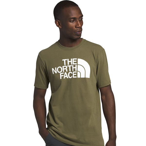 Shop The North Face Men's Half Dome Tee Shirt - Burnt Olive Green Online Australia | Benny's Boardroom