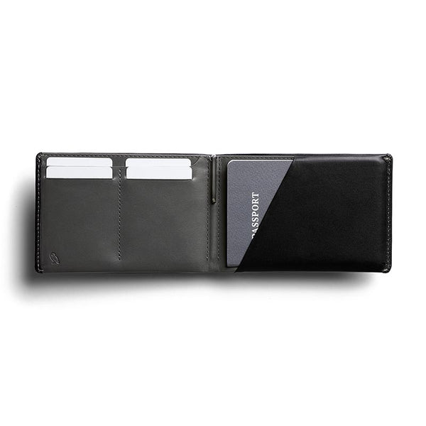 Buy Bellroy RFID Travel Wallet Online - Black | Benny's Boardroom