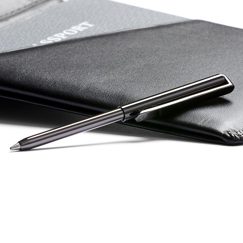 Buy Online Bellroy RFID Travel Wallet - Black - Travel Pen
