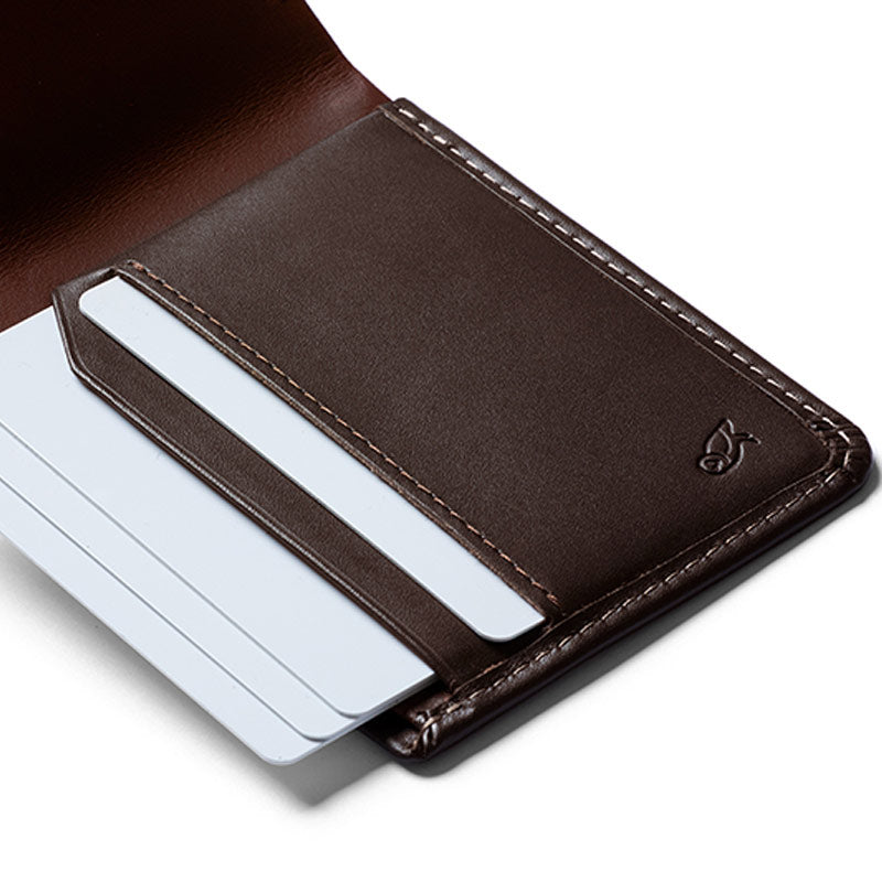 Bellroy The Low Leather Wallet - Java | Benny's Boardroom