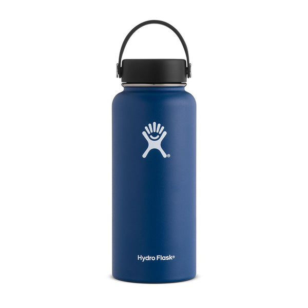 Shop Hydro Flask 950ml Wide Mouth Reusable Water Bottle Online - Cobalt | Benny's Boardroom