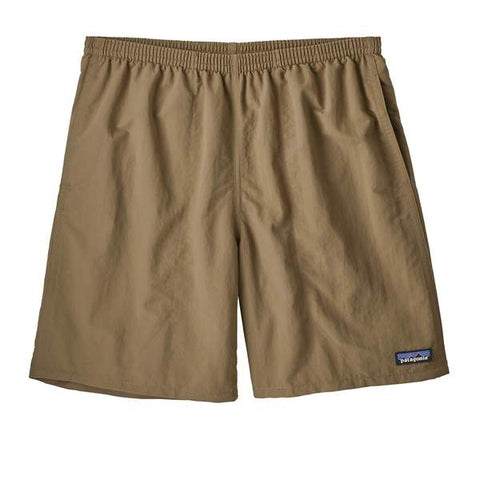 Shop Online Australia Patagonia Men's Baggies Longs Shorts 7in - Ash Tan 58034 ASHT | Benny's Boardroom