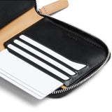 Shop Online Bellroy Zip Wallet - Black Clever Card Storage | Benny's Boardroom