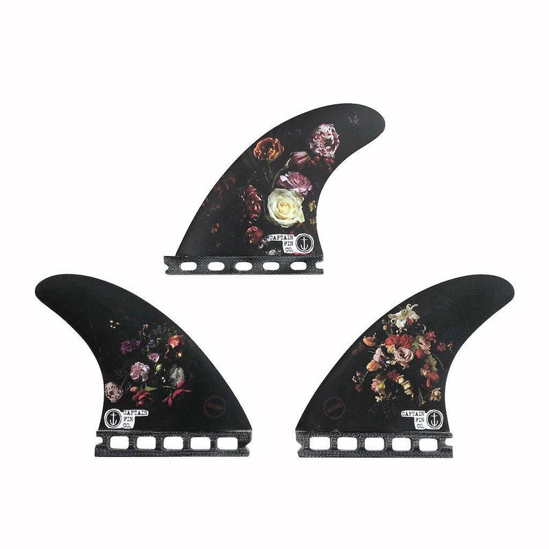 Shop Online Captain Fin Dion Agius Flowers (M) Thrusters - Black | Benny's Boardroom