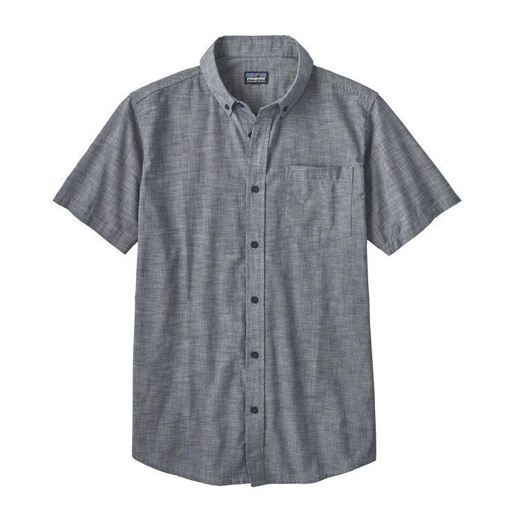 Shop Online Patagonia Men's Lightweight Bluffside Shirt - Chambray/Classic Navy 54121 CYN | Benny's Boardroom