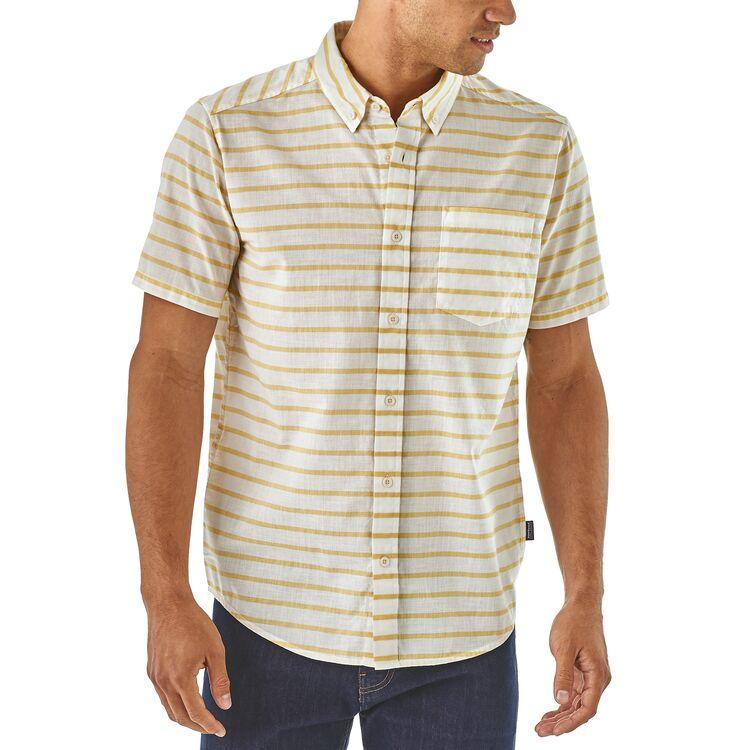 Shop Online Patagonia Men's Lightweight Bluffside Shirt - Lifestyle Front | Benny's Boardroom