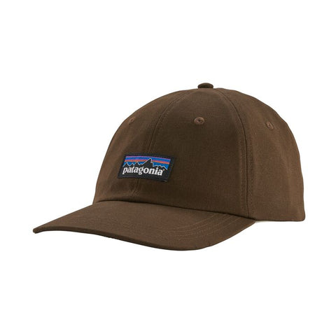 Shop Online Patagonia P-6 Label Trad Cap - Bristle Brown 38207 BTBR | Benny's Boardroom