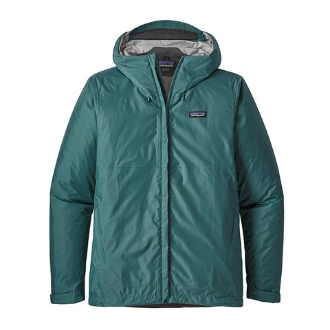 Shop Patagonia Men's Torrentshell Jacket Online - Tasmanian Teal | Benny's Boardroom