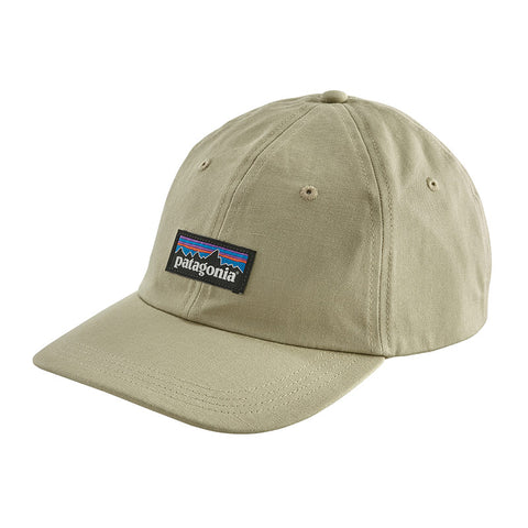 Shop Patagonia P-6 Label Trad Cap - Weathered Stone Online | Benny's Boardroom