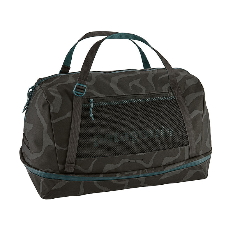 Shop Patagonia Planing Wet/Dry Duffel Bag 55L Online - Tiger Tracks Camo | Benny's Boardroom