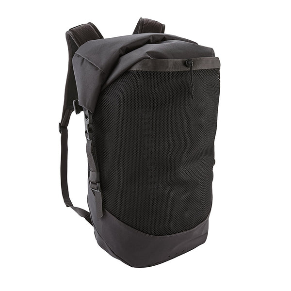 Shop Patagonia Planing Roll Top 35L Surf Backpack Online - Ink Black | Benny's Boardroom