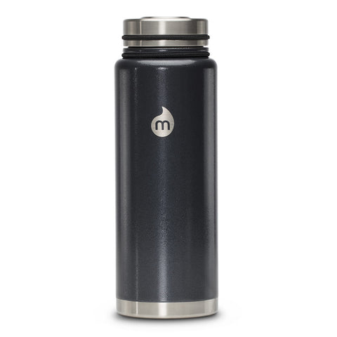 Shop Mizu V12 Insulated Drink Bottle - Grey/Hammer 1200ml | Benny's Boardroom