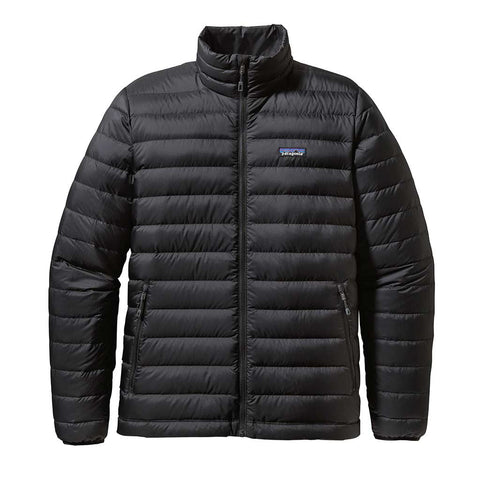 Shop Patagonia Men's Down Sweater Jacket Online Australia - Black | Benny's Boardroom