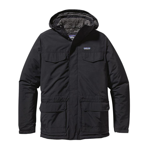 Shop Patagonia Men's Isthmus Parka Jacket Online - Black | Benny's Boardroom