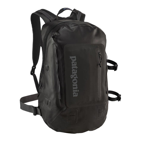 Shop Patagonia Stormfront Pack 30L Waterproof Backpack - Black | Benny's Boardroom