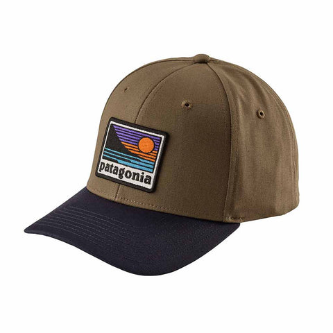 Shop Patagonia Up & Out Roger That Hat - Dark Ash -   | Benny's Boardroom