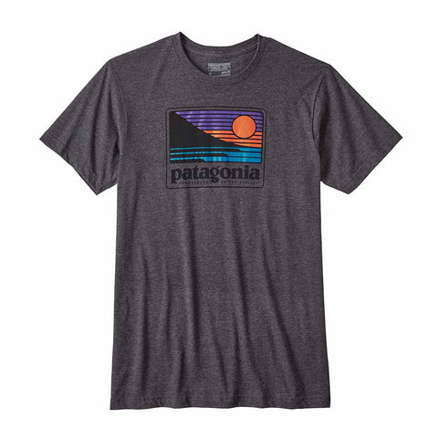 Shop Patagonia Mens Up & Out T-Shirt - Black | Benny's Boardroom