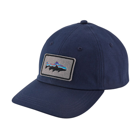 Shop Patagonia Fitz Roy Trout Patch Trad Cap - Classic Navy Online | Benny's Boardroom
