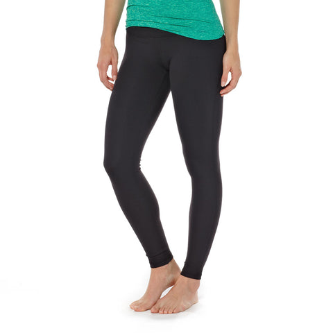 Shop Patagonia Womens Centered Tights - Black | Benny's Boardroom