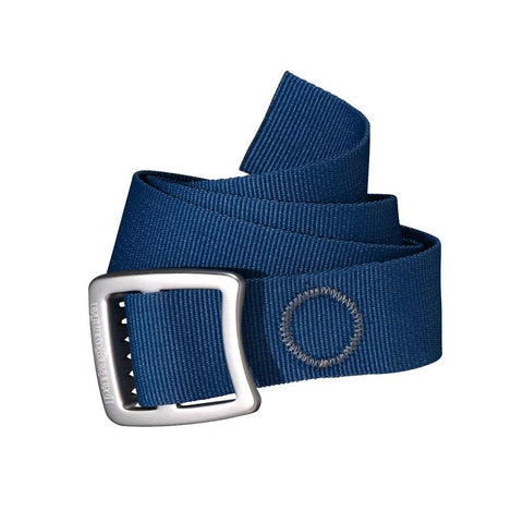 Shop Patagonia Tech Web Belt - Glass Blue | Benny's Boardroom
