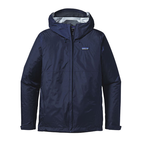 Shop Patagonia Men's Torrentshell Jacket - Navy Online | Benny's Boardroom