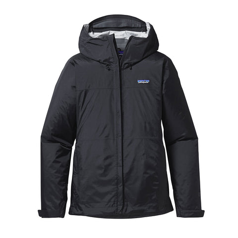 Shop Patagonia Womens Torrentshell Jacket - Black | Benny's Boardroom