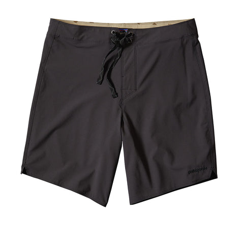 Shop Patagonia Light & Variable Board Shorts 18in - Ink Black | Benny's Boardroom