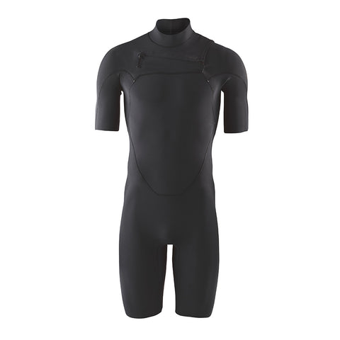 Shop Patagonia Men's R1 Yulex Lite FZ Spring Suit Wetsuit - Black | Benny's Boardroom