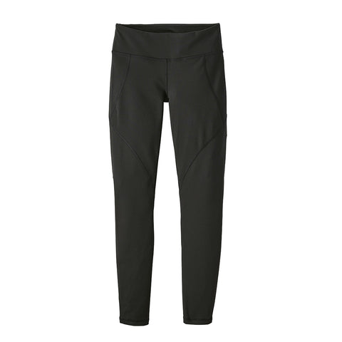 Shop Patagonia Women's Centered Tights - Black | Benny's Boardroom