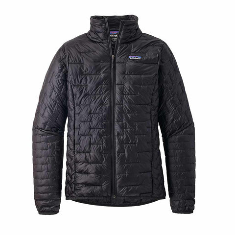 Shop Patagonia Women's Micro Puff Jacket - Black | Benny's Boardroom