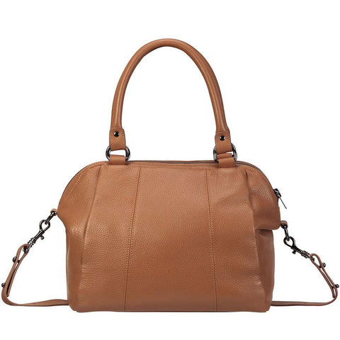 Shop Status Anxiety Force of Being Handbag -  Tan | Benny's Boardroom