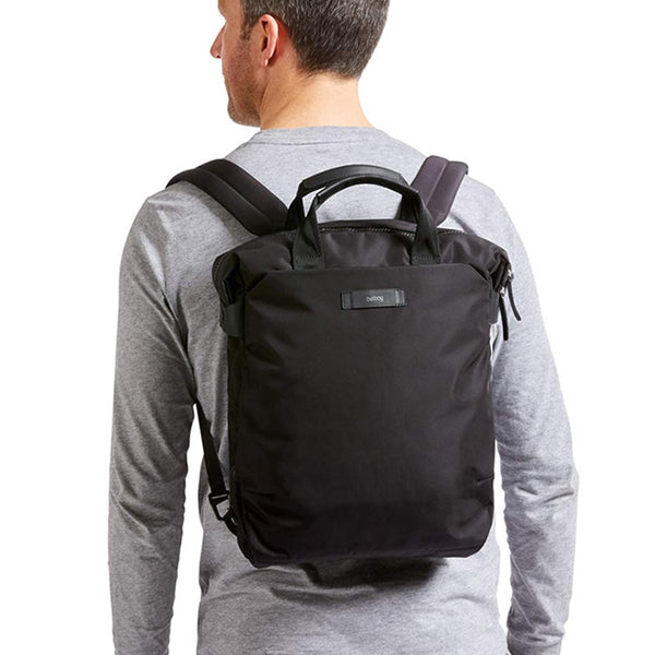Shop Black - Bellroy Bags Duo Totepack Backpack + Tote Bag Online | Benny's Boardroom