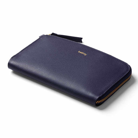 Shop Bellroy Pocket Women's Wallet - Navy | Benny's Boardroom
