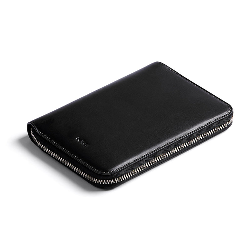 Shop Bellroy Travel Folio - Black | Benny's Boardroom