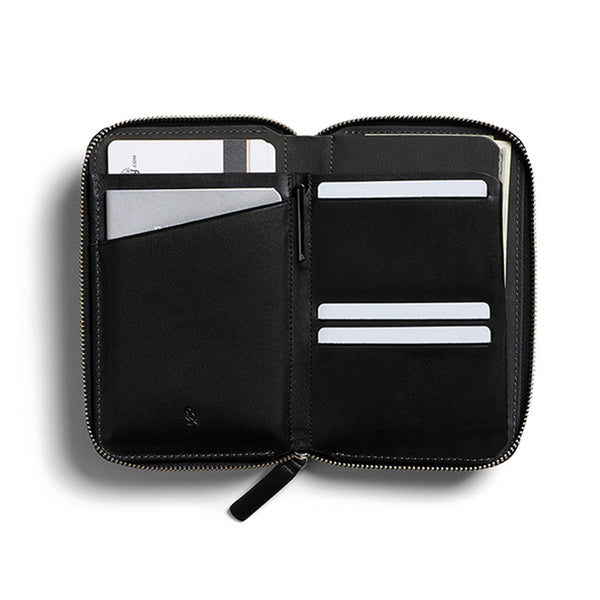 Buy Bellroy Travel Folio - Black | Benny's Boardroom