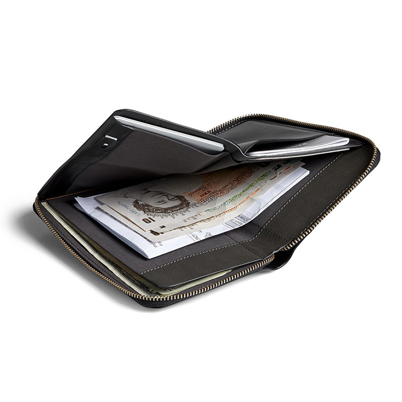 Shop Bellroy Travel Folio Online - Black | Benny's Boardroom