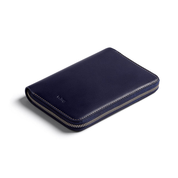 Shop the Bellroy Travel Folio in Navy at Benny's Boardroom