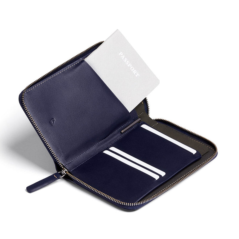 Shop Bellroy Travel Folio Online - Navy | Benny's Boardroom