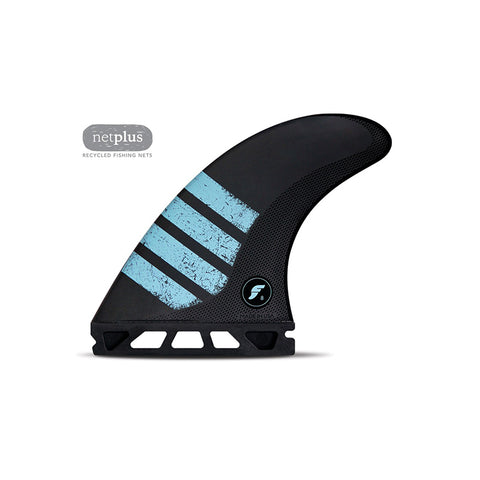 Buy Futures Fins F8 Alpha Large Thruster Fins Online - Carbon/Green | Benny's Boardroom